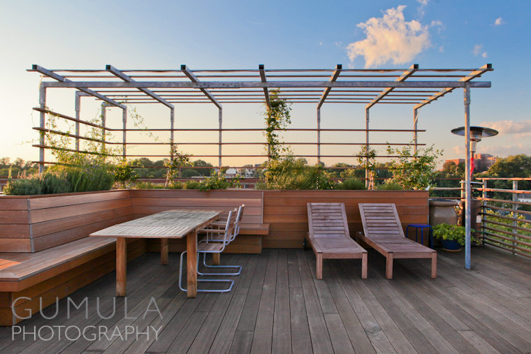 Residential Roof Deck Architectural Photography Providence Ri