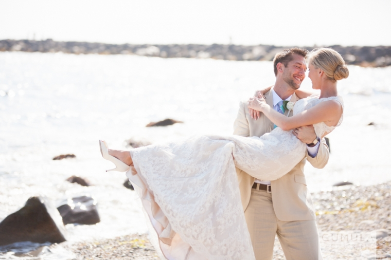 Erin Matt At Quidnessett Country Club Rhode Island Beach Wedding Photography